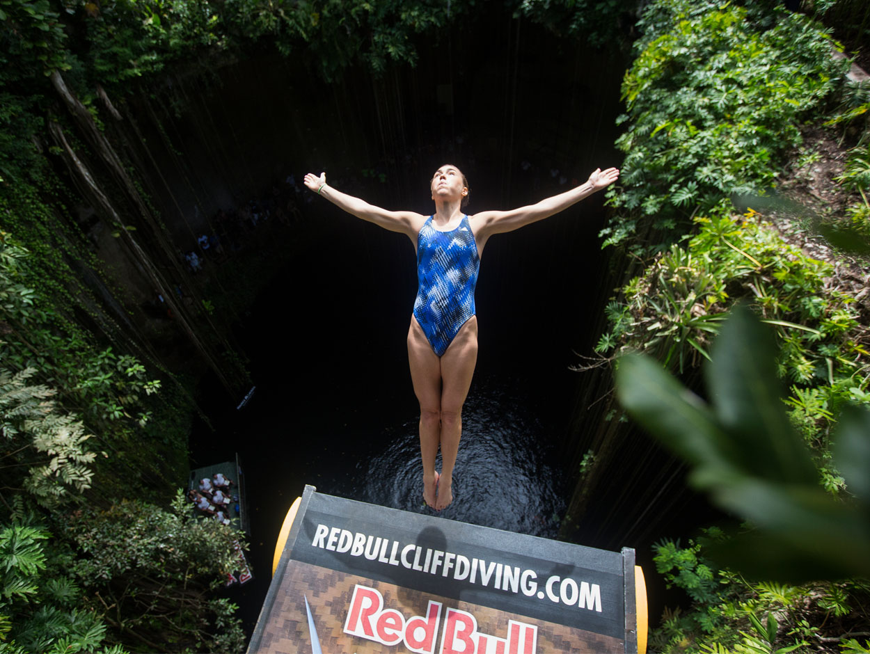 Red Bull Cliff Diving Stanford Diving Site